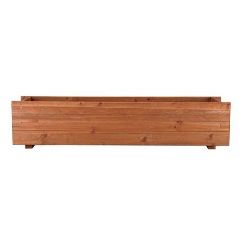 home depot window boxes pennington 36 in x 7 in wood window box 100045126 the