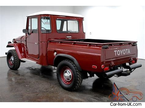 toyota pickup bench seat for sale 1965 toyota fj pickup 4x4 6 cylinder 4 speed manual bench