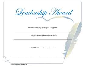 Certificate Of Leadership Template by Leadership Certificates Certificate Templates