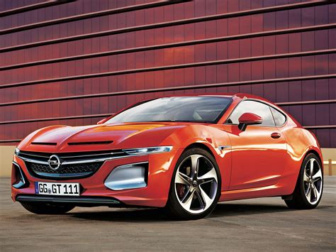 opel car new opel gt coupe concept will debut at 2016 geneva show