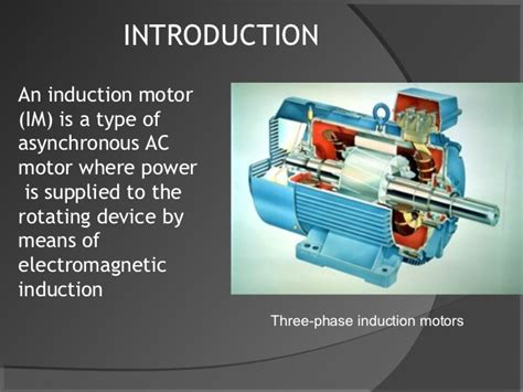 three phase induction motor lecture in 3phase induction motor