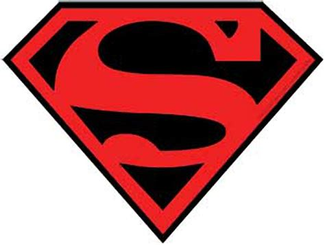 Cheap Home Accessories And Decor by Superman Red Amp Black Logo Sticker