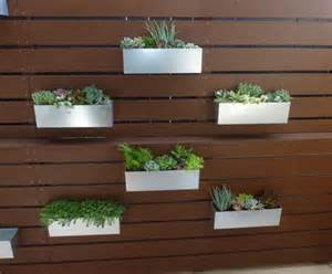 25 best ideas about fence planters on happy