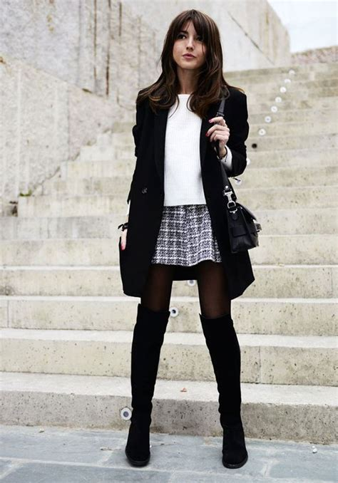 how to wear the knee boots 20 style tips on how to wear the knee boots gurl