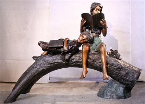 amazing large bronze garden sculptures  sale