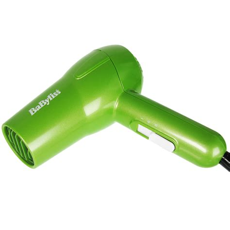 Babyliss Pro Hair Dryer Dual Voltage babyliss 1200w green dual voltage powerful travel nano hair dryer ebay