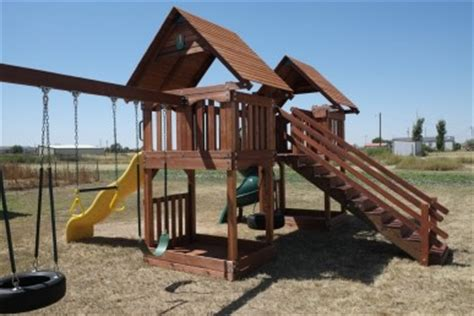 wooden swing sets dallas custom built texas wooden swing sets