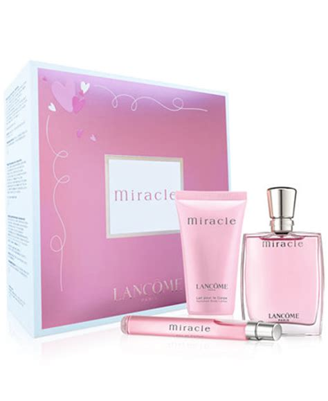lanc 244 me 3 pc miracle fragrance gift set a 100 value
