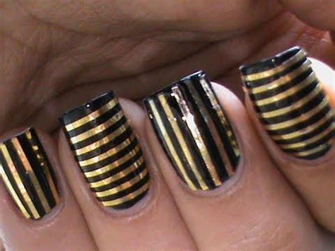 tutorial nail art striping tutorial striping tape nail art designs youtube