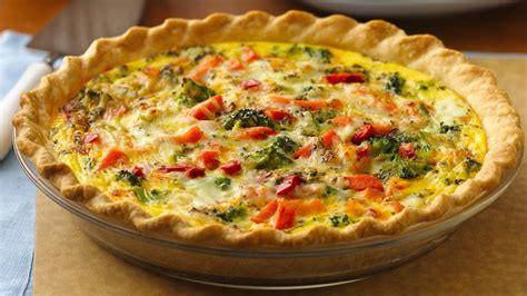 vegetables quiche recipe help