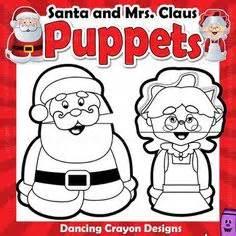 printable santa paper bag puppet christmas tree puppet puppet christmas tree and parents