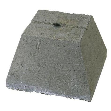 12 in x 8 in x 12 in concrete pier block m1212posm001