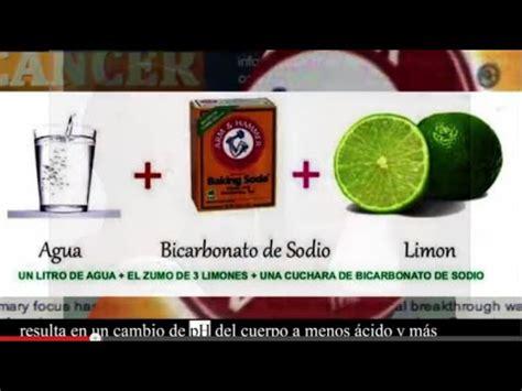se cura el cancer con bicarbonato de sodio por ruth c 225 ncer se cura con bicarbonato de sodio entrevista dr