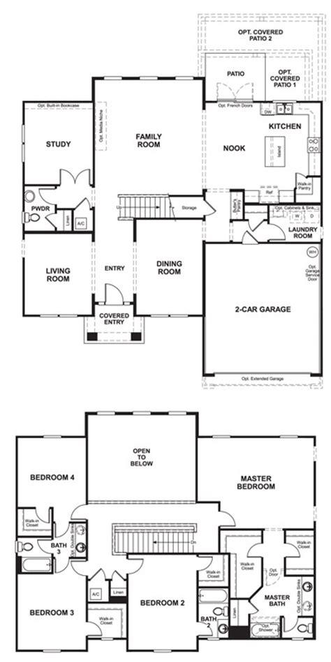 American Home Builders Floor Plans by Award Winning Homes Richmond American Homes The Darla