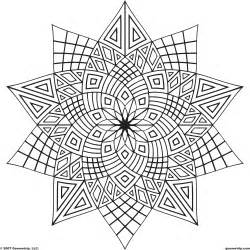 cool designs to color geometric patterns coloring pages