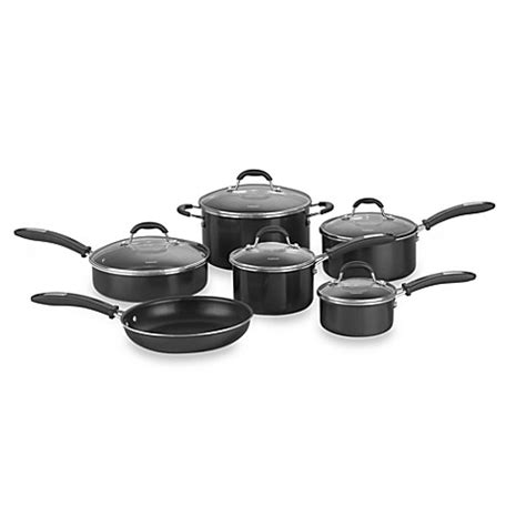 bed bath and beyond wok buy cuisinart 174 kitchen pro aluminum 11 piece cookware set
