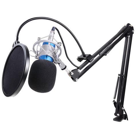 Mic Condenser Bm800 Bm 800 New Series Leihao Bm800 Bm700 Condenser Microphone Shock Holder Vocal Mic