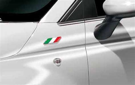 Länder Aufkleber Auto Italien by Fiat 500 U A Sticker Aufkleber Badge Italien Fahne