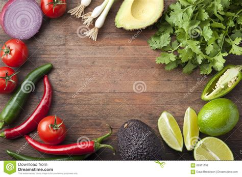 vegetables used in mexican cooking mexican vegetables wood background stock photo image of