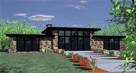 Ranch Floor Plans With Split Bedrooms by The Modern House Plan Stylish Living In The 21st Century