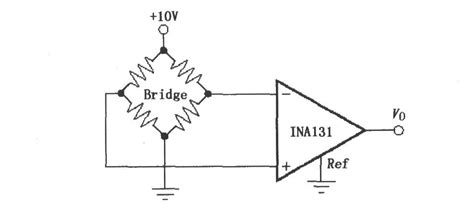 resistor bridge lifier circuit constituted by ina131 the resistor bridge lifier lifier circuit circuit diagram