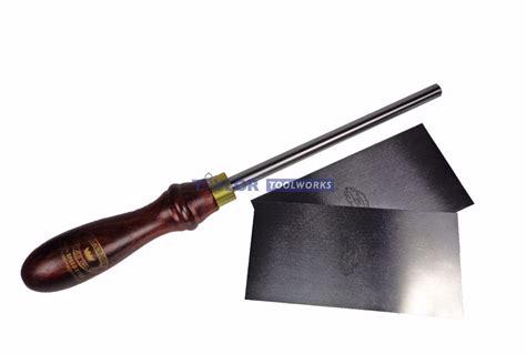 cabinet scraper burnishing tool crown made in uk scraper burnisher 2 piece crown
