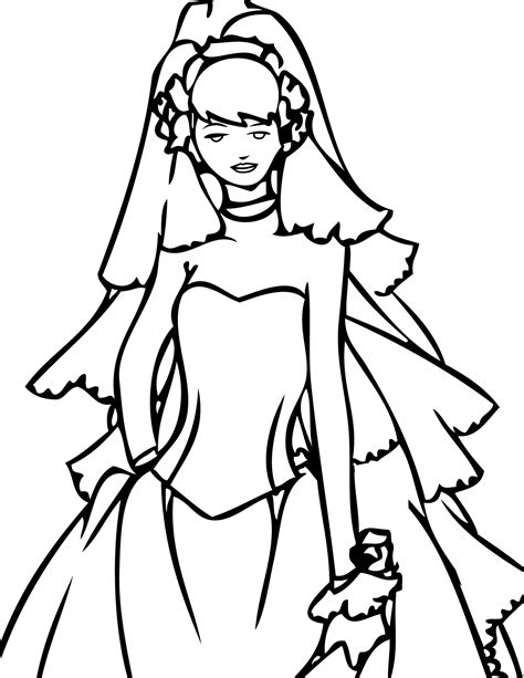 dress coloring page 4284