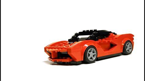 lego laferrari lego speed chions 75899 laferrari moc