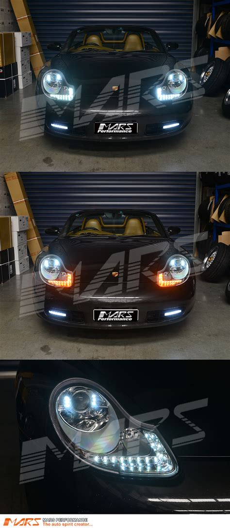 porsche headlights drl led projector lights for porsche carerra