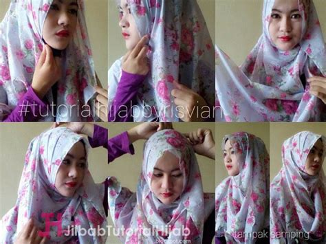 tutorial hijab simple glamour 6 tutorial style hijab pashmina simple jilbab tutorial hijab
