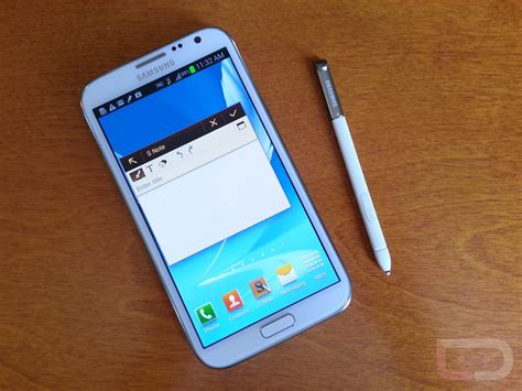 Samsung Note 2 samsung galaxy note 2 on and impressions