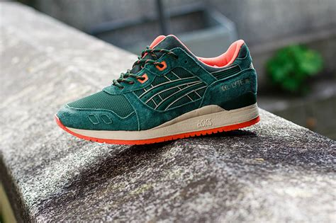 Asics Gell Lyte Iii Green For Asics Gel Lyte Iii Green Orange Hypebeast