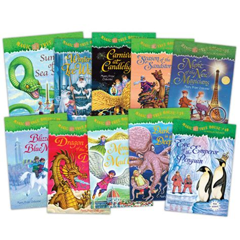 magic treehouse series in order the magic tree house series books 31 40 literature