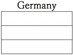 Geography blog germany flag coloring page