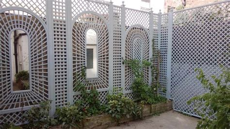 decorative fence panels essex uk  garden trellis