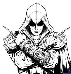 assassins creed coloring printable coloring pages kids girls