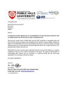 Certification Degree Letter pebble hills university congratulation letter pebble hills university