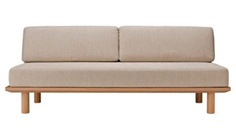 muji sofas brand new muji wooden sofa bed with cushion singapore