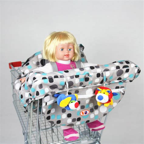baby seat covers for grocery carts 2016 baby shopping cart trolley cover infant car mats