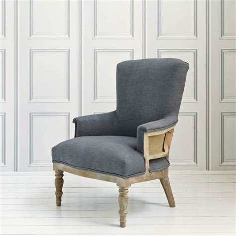 Grey Armchair Uk Deconstructed Armchair In Grey Linen Armchairs Graham