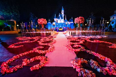 Wedding In Disneyland by Myths About Disneyland Weddings This Tale