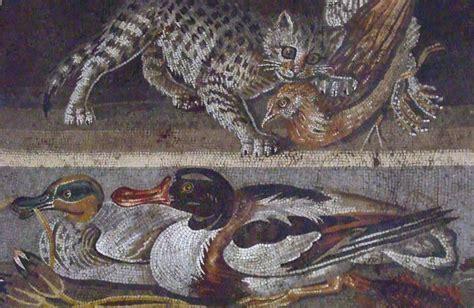 Bya Maxy Original Nabtik mosaic pompeii illustration ancient history encyclopedia