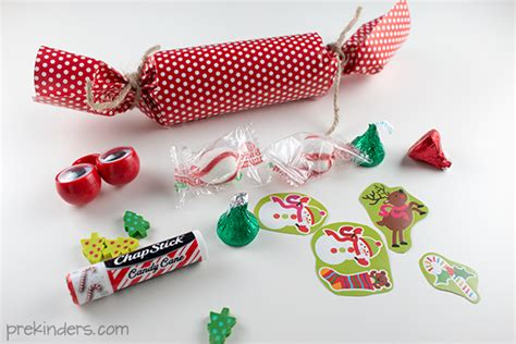 how to make english christmas crackers prekinders
