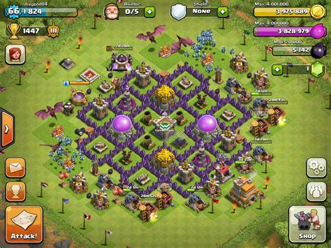 coc layout manager best th5 farming base