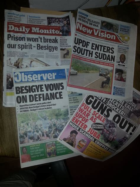 Newspaper The Institute Museveni S Misdirection Reading Between The Lines In Uganda Africa Research Institute