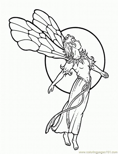 exiucu biz faerie coloring pages
