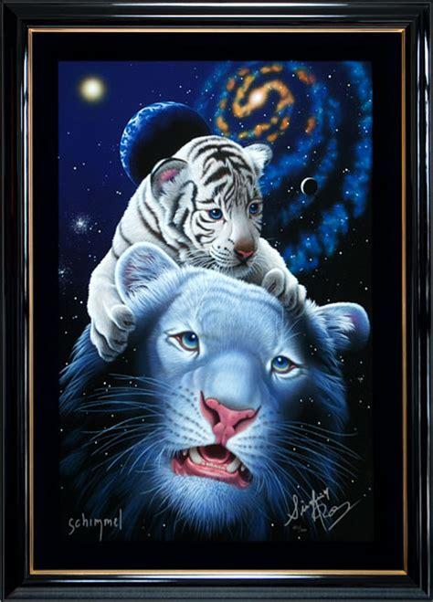 Jp White シムシメール ホワイト タイガー マジック アートアレックスギャラリー