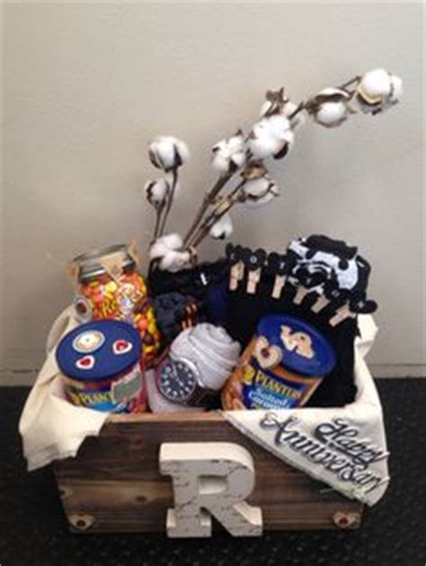Wedding Anniversary Gift Basket Ideas by The Quot Cotton Quot Anniversary Gift For Him Anniversary