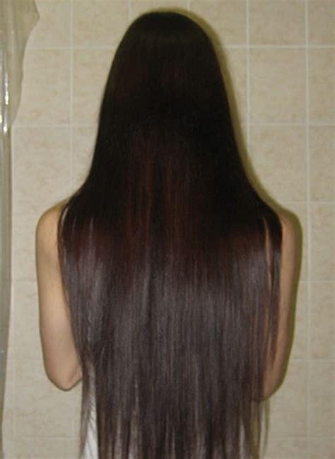 haare schneiden zu hause lange haare schneiden stufen