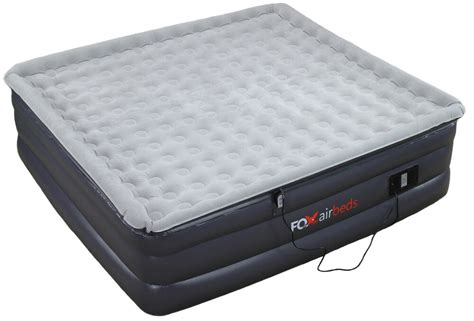 king size raised air mattress inflatable plush high rise
